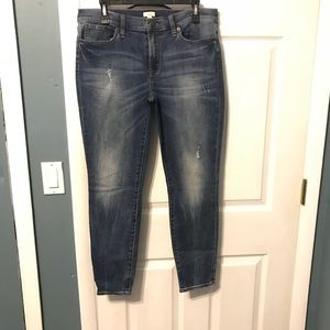 J.Crew faded skinny jeans! Never worn! Size32